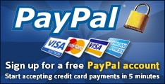 Sign up for a free PayPal account!