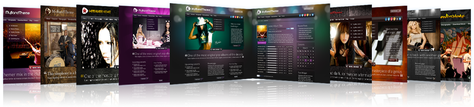 MyBandTheme WordPress Themes