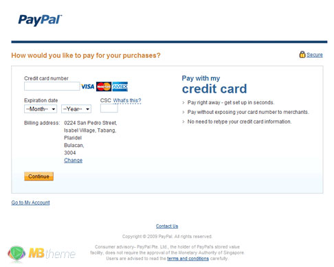 How to make a PayPal account 4