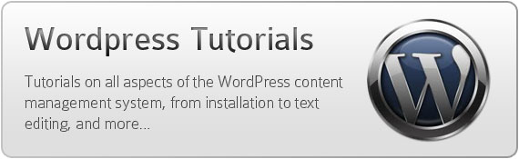 WordPress tutorials - Tutorials on all aspects of the WordPress content management system, from installation to text editing, and more...